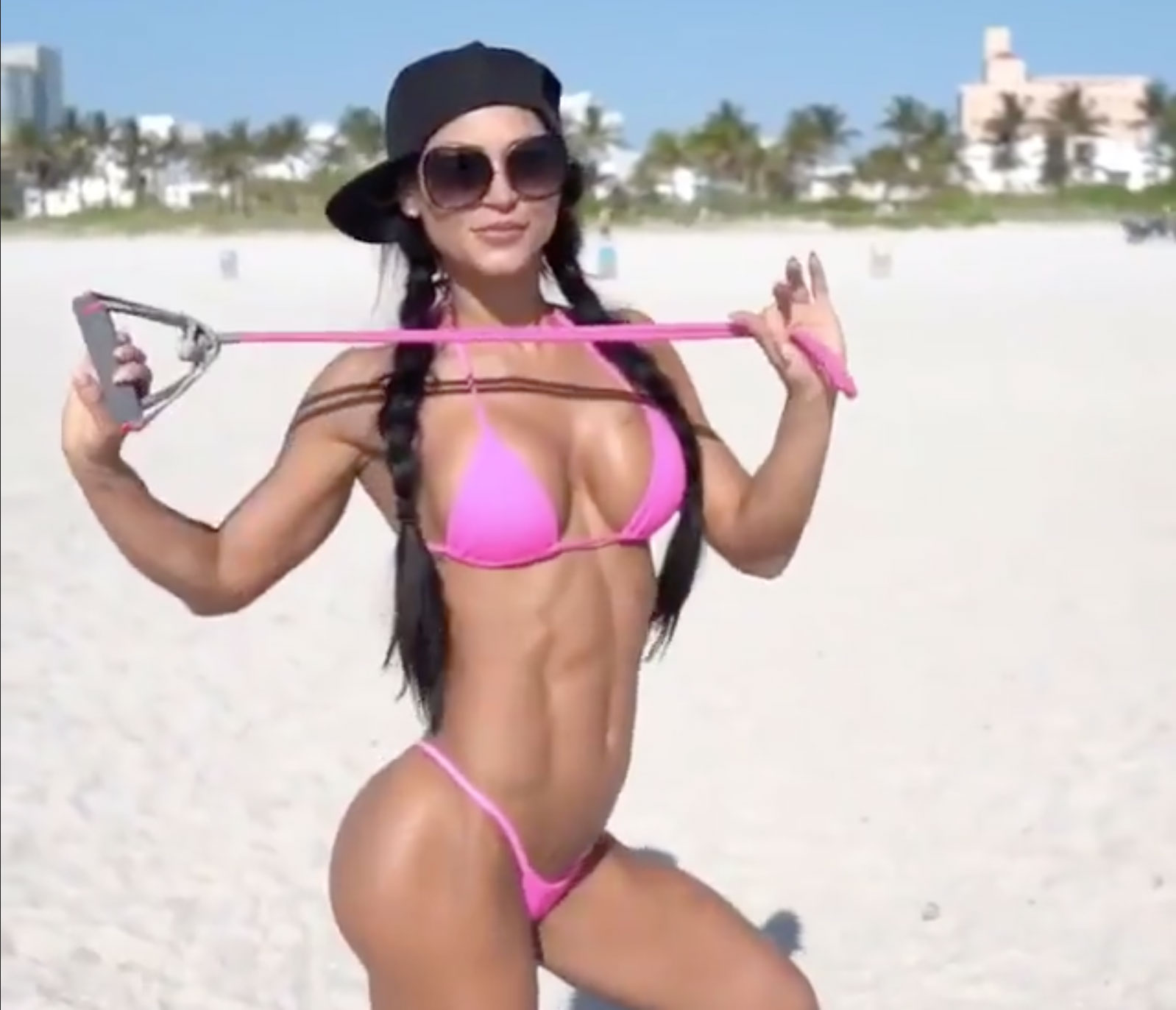 Anita Herbert Beach Workout